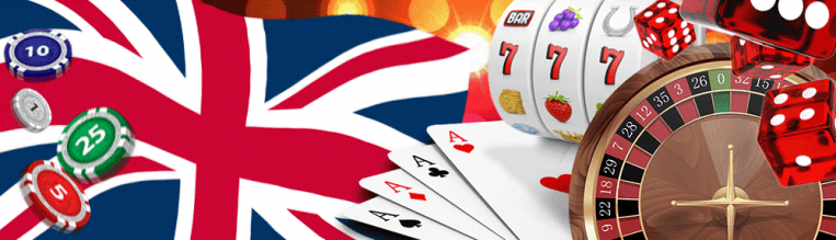 Popular casino games with the Union Jack.